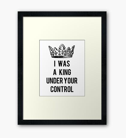 Years & Years- King Framed Print