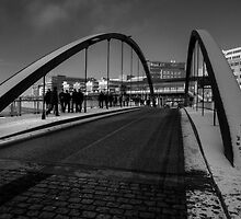 Bridge to the Docks  by Rob Hawkins