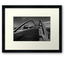 Bridge to the Docks  Framed Print