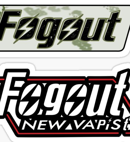 fog out 2 pack     Sticker