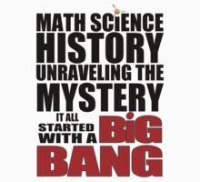 The Big Bang Theory - Light coloured shirts