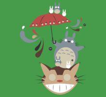 Neighborhood Friends Umbrella One Piece - Short Sleeve