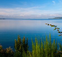 Lake Taupo, New Zealand by Marc Garrido Clotet