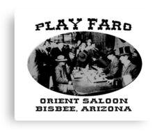 Play Faro Canvas Print