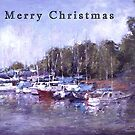 Moored Christmas by Lyn Green