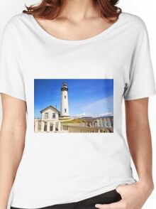 Pigeon Point Lighthouse Women's Relaxed Fit T-Shirt