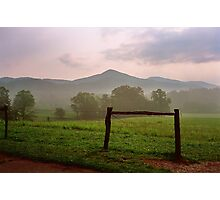 Early Morning - Cades Cove, Tennessee Photographic Print