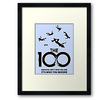 The 100 - Survival Framed Print