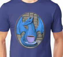 Blue Book Hoarding Dragon with Tea Unisex T-Shirt