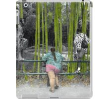 At the Zoo - Who is Watching Who? iPad Case/Skin