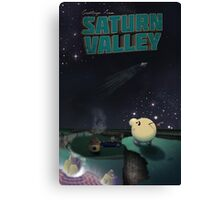 Greetings from Saturn Valley Canvas Print