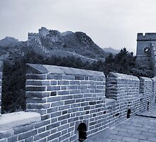 The Great Wall, China by strangelight