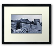 The Great Wall, China Framed Print