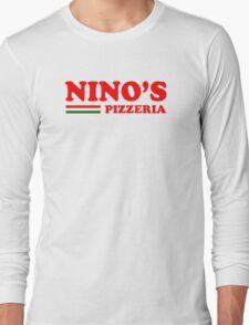 Nino's Pizzeria (menu) Long Sleeve T-Shirt