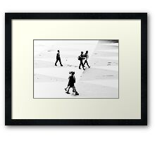 1986 - the crossing Framed Print