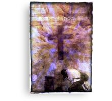 Repentance Canvas Print