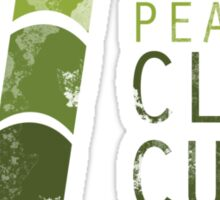 Peater's Clean Cut on Bamboo Island Sticker