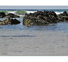 Rocky Waves Photographic Print