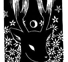 Moon Deer by aellae