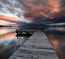 Nightfalls, Tarawera by Michael Treloar