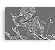 Sword Rush Trunks Canvas Print