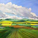 South Australian Canola fields via Yacka # 4 by Virginia McGowan
