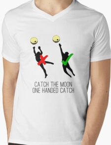 Catch the moon Mens V-Neck T-Shirt