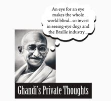 Ghandi - Good Investments by Ryan Houston