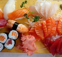 sushi and sashimi by supergold