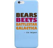 Custom - Bears Beets Battlestar Galactica iPhone Case/Skin