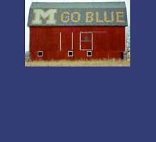 Go Blue Michigan Barn Unisex T-Shirt