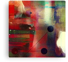 The undeniable abstract reality Canvas Print