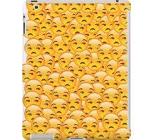 Annoyed Emoji iPad Case/Skin