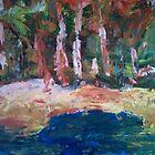 the waterhole by glenn  archer