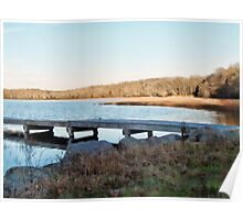 Worden's Pond At Sunset - Series - East - Southern Rhode Island Poster