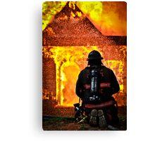 Firemen's Valor Canvas Print