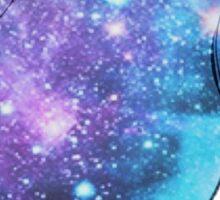 Galaxy Baymax Sticker