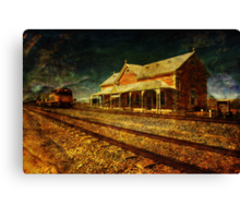 Can You Hear the Whistle Blowing? Canvas Print
