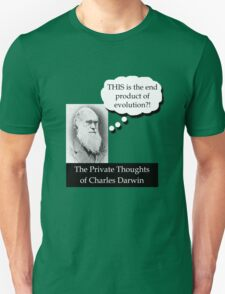 Charles Darwin - Disappointed T-Shirt
