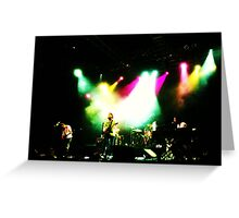 Manchester Orchestra at House of Blues Orlando Greeting Card