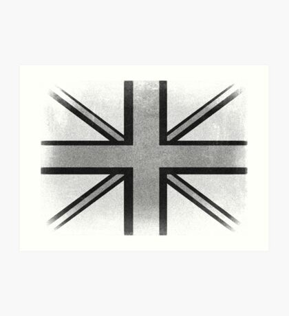 Vintage British Flag Art Print