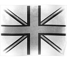 Vintage British Flag Poster