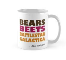 Custom - Bears Beets Battlestar Galactica for MUGS Mug