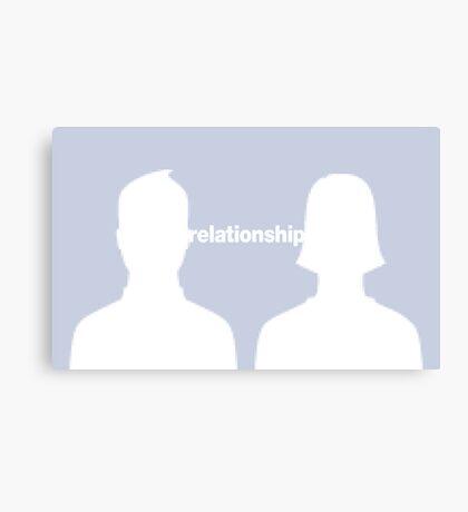 relationship Canvas Print
