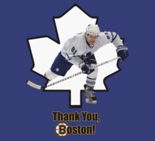 Thank you, Boston (for Phil Kessel) by marinasinger