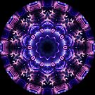 Neon Lights Kaleidoscope 03 by fantasytripp