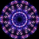 Neon Lights Kaleidoscope 03 by fantasytripp