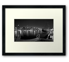Settled in Retirement Framed Print