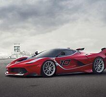 Ferrari FXX K by victorli428