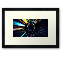 Star of the Lake Framed Print